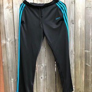 Adidas lined running joggers